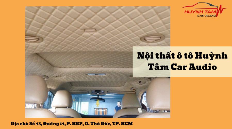 Huỳnh Tâm Car Audio - Quy trình làm việc chuyên nghiệp