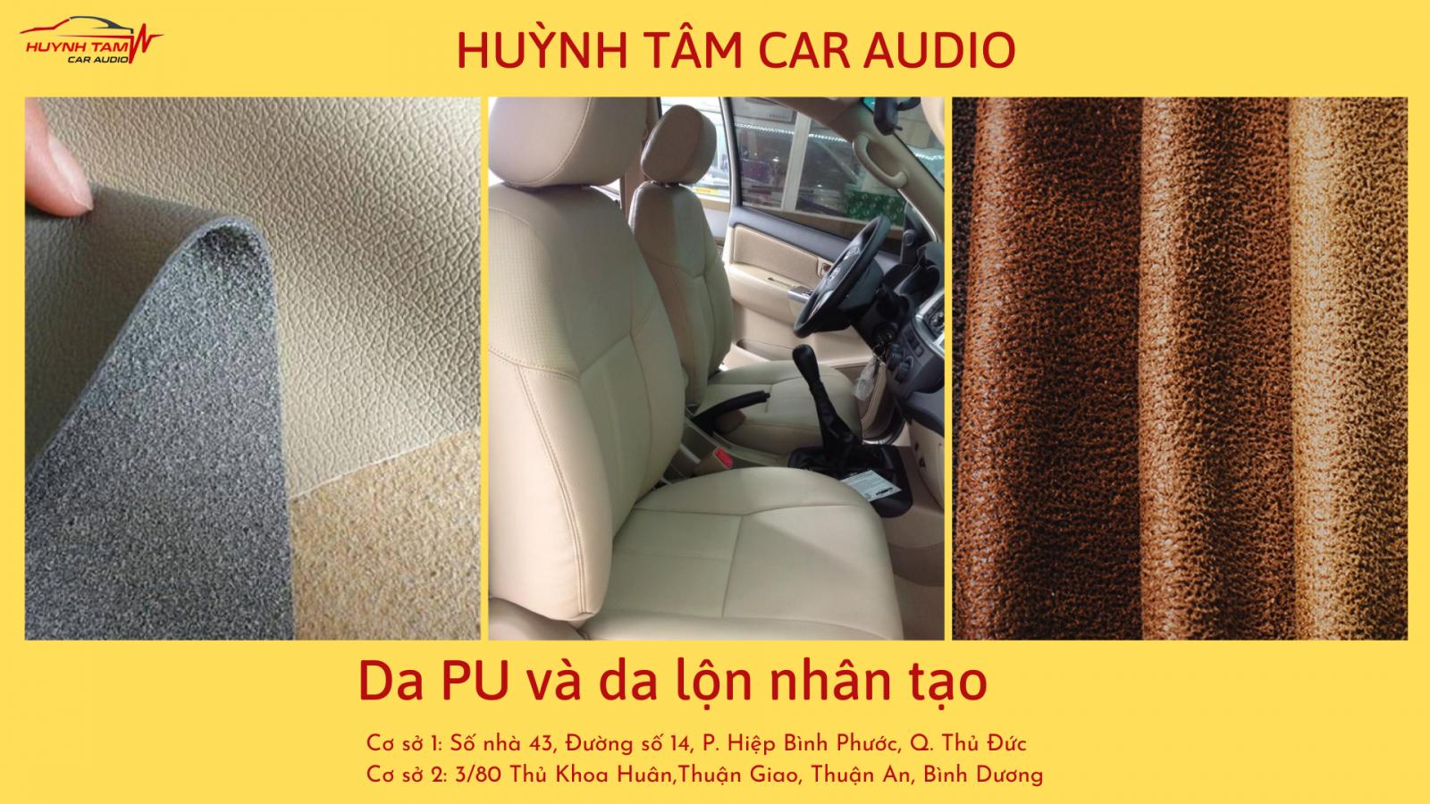 Bọc ghế ô tô