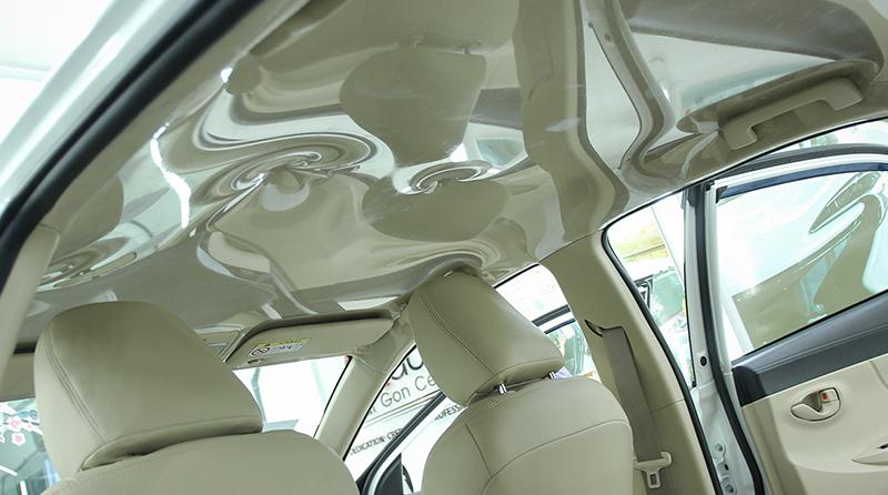 bọc trần nilon xe hơi