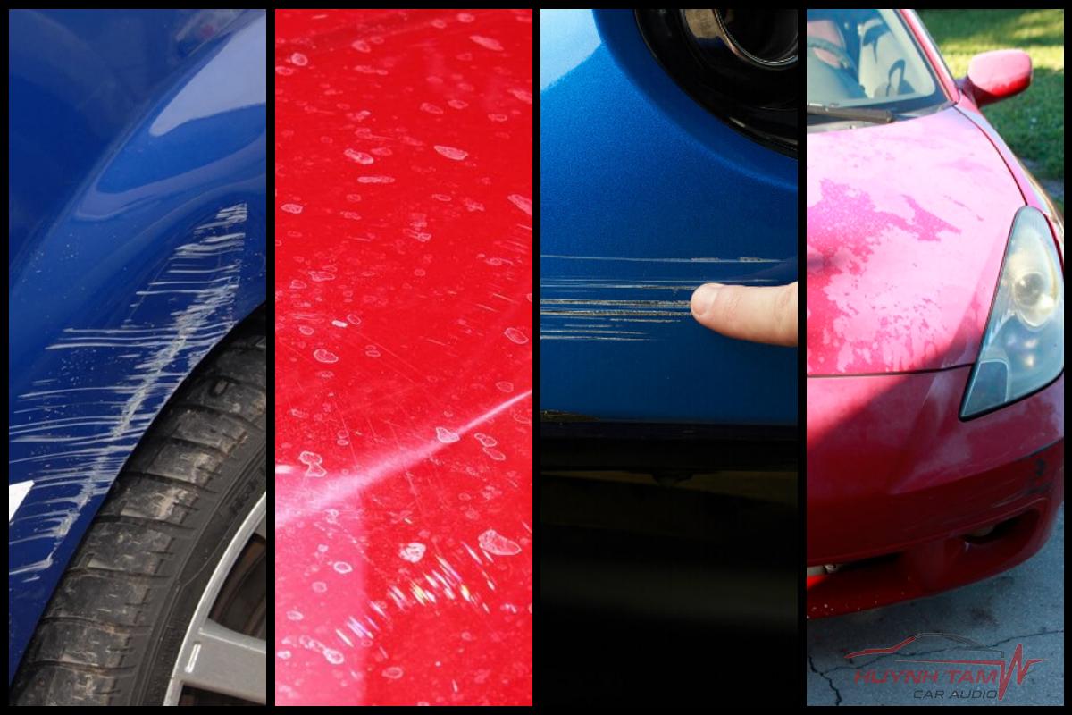 khi nào cần sơn dặm lại cho xe ô tô